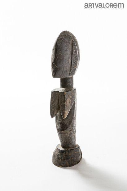 Poupée MOSSI (Burkina Faso), statuette féminine...