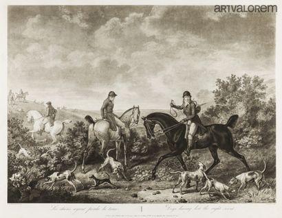 D'après Carle VERNET (1758-1835)  Les chiens...