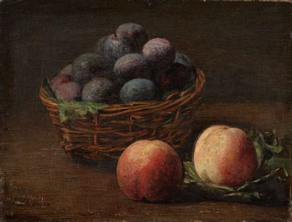 Victoria DUBOURG (1840-1926)  Prunes et...