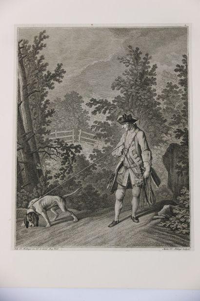 J.Elias RIDINGER (1698-1767) Martin Elias...