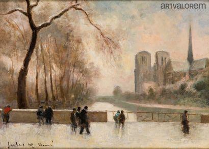 Jules René HERVE (1887-1981)  Notre de Dame...