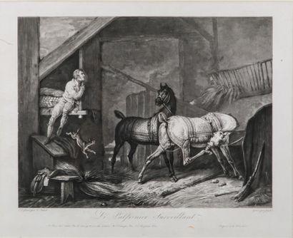 Carle VERNET (1758-1835) gravé par Jazet...
