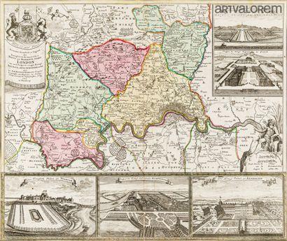 Johann-Baptist HOMANN (1664-1724)  Plan des...