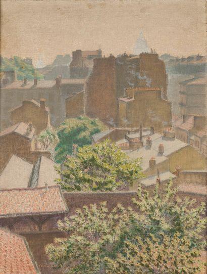 Charles LACOSTE (1870-1959)  Paris, le soleil...