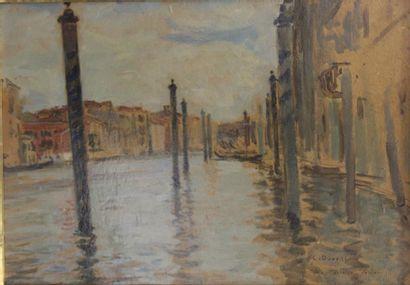 Charles DUVENT (1867-1940)  Palais Macenzo....