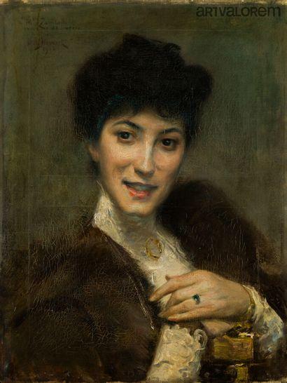Julius Leblanc STEWART (1855-1919)  Portrait...