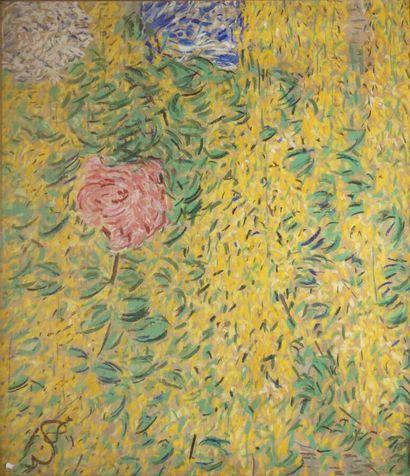 Anna DE NOAILLES (1876-1933)  Fleurs aux...