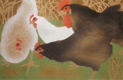 Georges MANZANA PISSARRO (1871-1961)  Quatre...