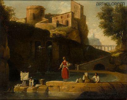 Ecole française du XVIIIème siècle, suiveur...