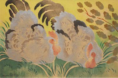 Georges MANZANA PISSARRO (1871-1961)  Deux...