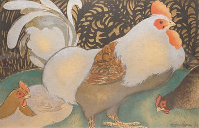 Georges MANZANA PISSARRO (1871-1961)  Coq...