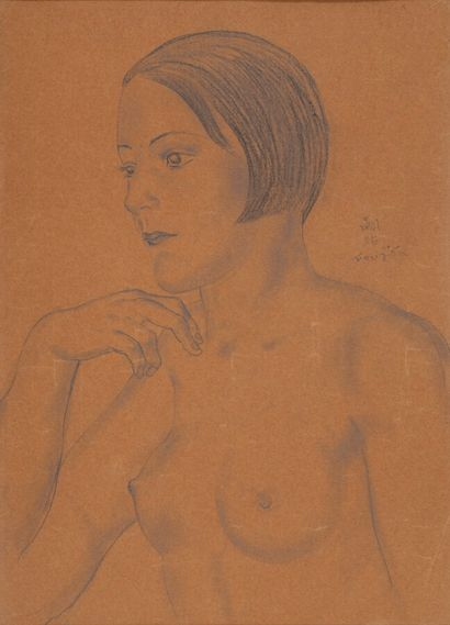 Léonard Tsuguharu FOUJITA (1886-1968)  Garçonne...