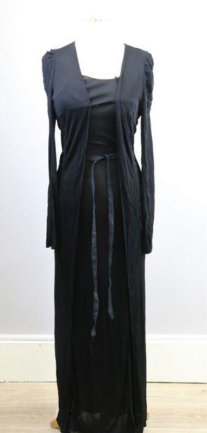 MARTINE MARGIELA  Robe longue et manteau...