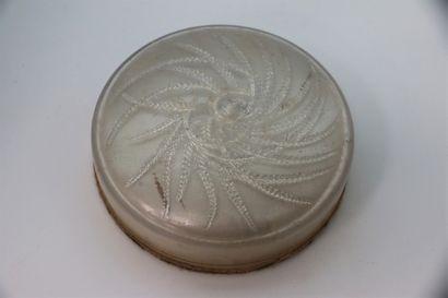 Houbigant - (années 1920)  Coffret cylindrique...