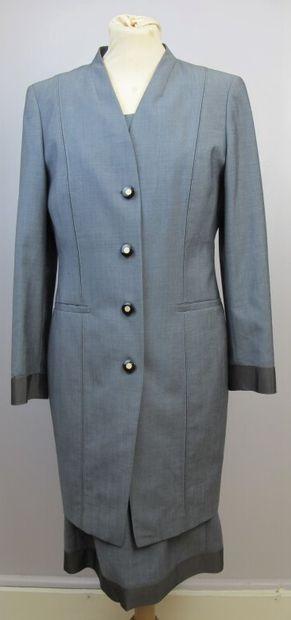 CERRUTI 1881  Tailleur robe en laine et mohair...
