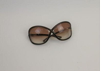 TOM FORD  Paire de lunettes de soleil  (Rayures,...