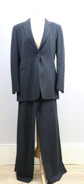 EMPORIO ARMANI  Tailleur pantalon en laine...