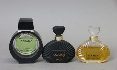 Loris Azzaro (années 1970-1980)  Lot comprenant...