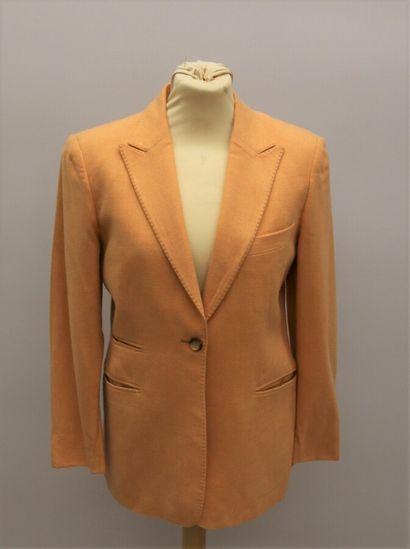 HARTWOOD  Veste en cachemire orange