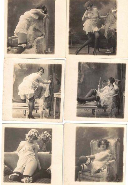 Erotisme, charme, études de nu, en studio,...