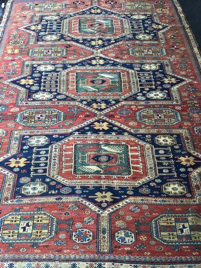 Très ancien et original Soumak (Caucase)...