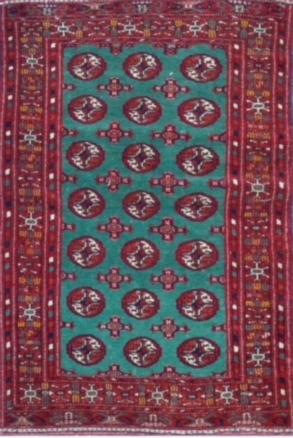 Tekke Boukhara (Turkmen) milieu XXème.  Velours...