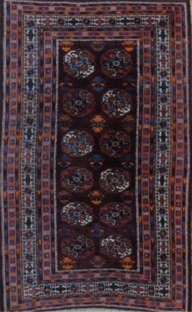 Beloutchistan (Turkmen) milieu XXème.  Velours...