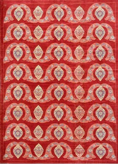 Important et original tapis moderne contemporain...