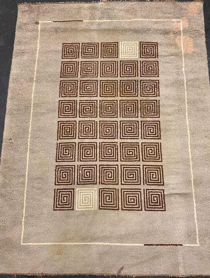 Original tapis Leleu (France) vers 1940....