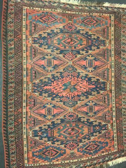 Ancien Soumak (Caucase) fin XIXème.  Travail...