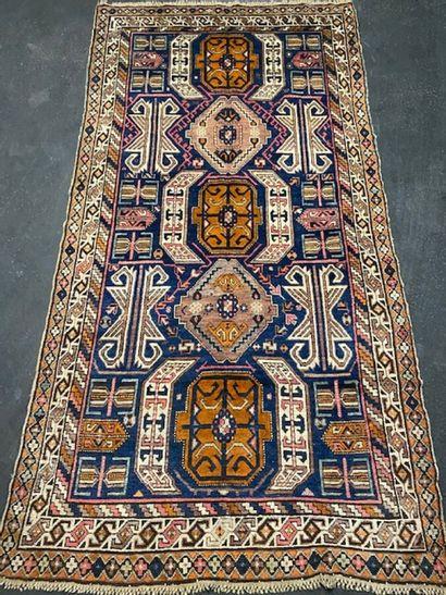 Important, original et ancien Lenkoran (Caucase)...