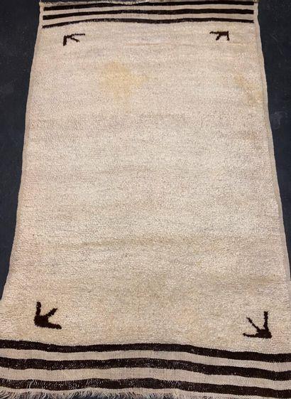 Original tapis berbère Beni Ouarain (Nord...