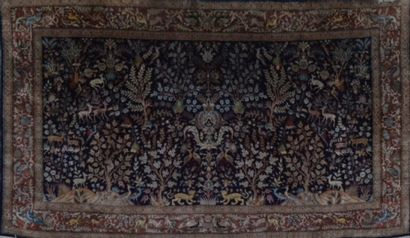 Original et fin Tabriz en soie (Iran) vers...