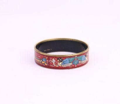 HERMES Paris made in Austria  Bracelet jonc...