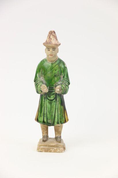 Chine, dynastie Ming (1368-1644).  Mingqi...