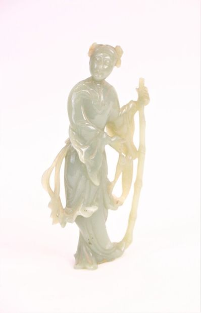 CHINE, époque Minguo (1912-1949)  Statuette...