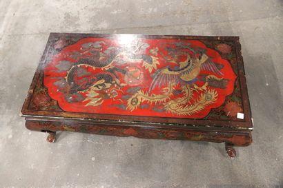 Table basse en laque. Chine (moderne)  100...