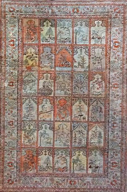 Original Kayseri en soie (Turquie) dans la...