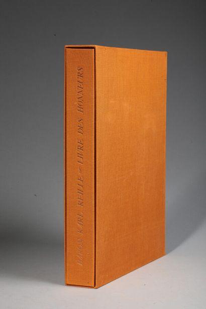 Baron Karl REILLE. Livre des Honneurs. S.l.,...