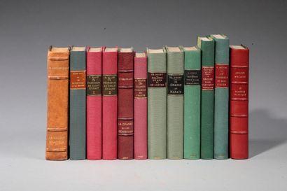 [GÉNÉRALITÉS]. 11 ouvrages en 12 volumes...