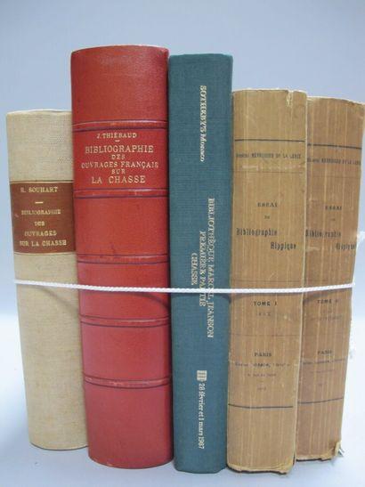 [BIBLIOGRAPHIE]. Un lot de 6 ouvrages en...