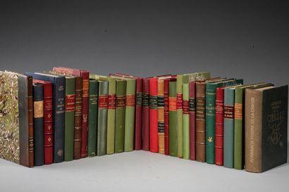 [SOUVENIRS]. 27 ouvrages in-8 et in-12 en...