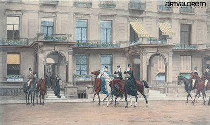 D'après JM. CLAUDE (1824-1904) gravé par...