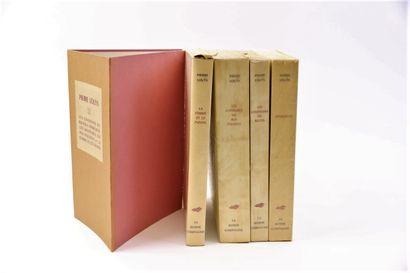 Pierre LOUYS  Quatre ouvrages brochés sous...