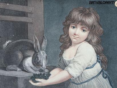 RUSSEL R.A (1745-1806) gravé par Schiavonnetti...