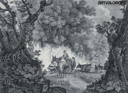 Jean PILLEMENT (1728-1808) gravé par W.Helliot...