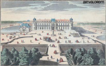 Ecole française du XVIIIème siècle  Gravure...