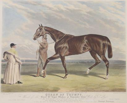 C.HANCOCK (1800-1877) gravé par Duncan  Queen...