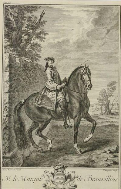 D'après Charles PARROCEL (1688-1752)  Le...