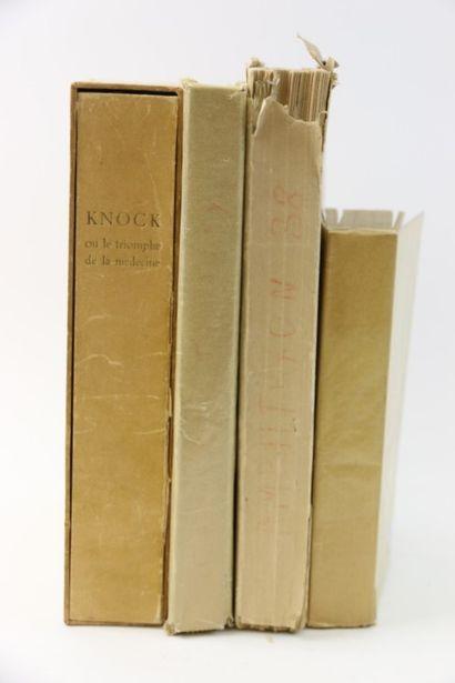 Lot de livres brochés :  - TASLITZKY Boris....